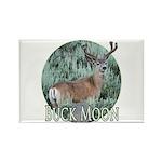 Buck moon Rectangle Magnet (100 pack)