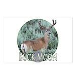 Buck moon Postcards (Package of 8)