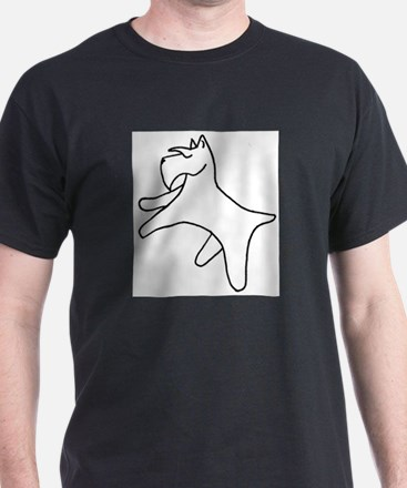 Simple Schnauzer T-Shirt