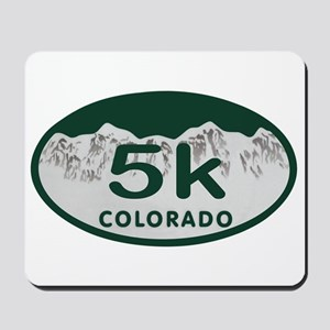 5K Colo Oval Mousepad
