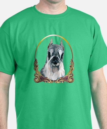Christmas Holiday Schnauzer T-Shirt