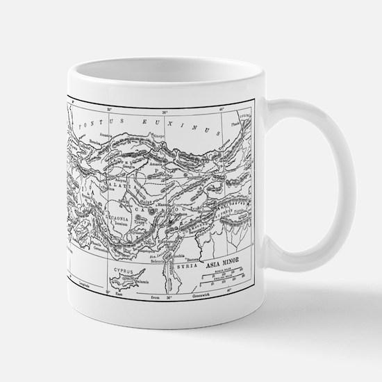 Asia Minor Map Mug