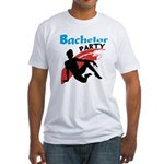 Sexy Bachelor Party Fitted T-Shirt