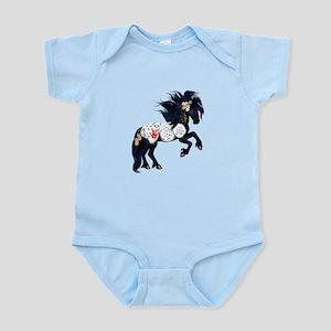 Appaloosa War Pony Infant Bodysuit