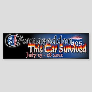 Carmageddon: Sticker (Bumper)