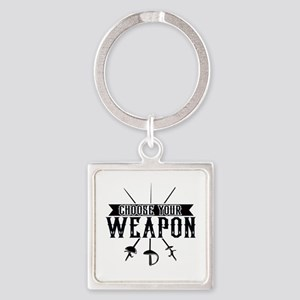 Choose Your Weapon Keychains