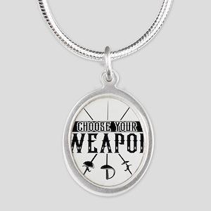 Choose Your Weapon Necklaces