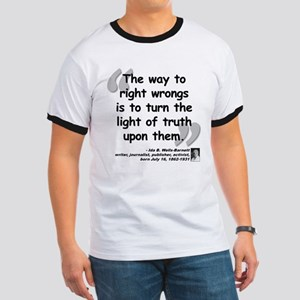 Wells Truth Quote Ringer T