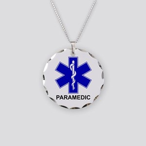 BSL - PARAMEDIC Necklace Circle Charm