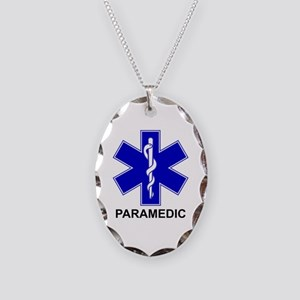 BSL - PARAMEDIC Necklace Oval Charm
