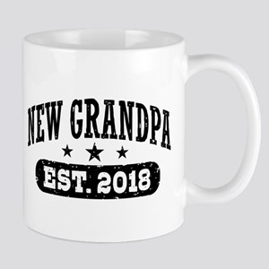 New Grandpa Est. 2018 11 oz Ceramic Mug