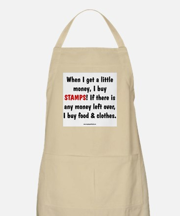 I Buy Stamps BBQ Apron
