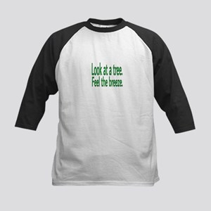 Look at a tree. Feel the breeze. Baseball Jersey