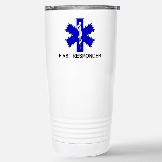BSL - FIRST RESPONDER Stainless Steel Travel Mug