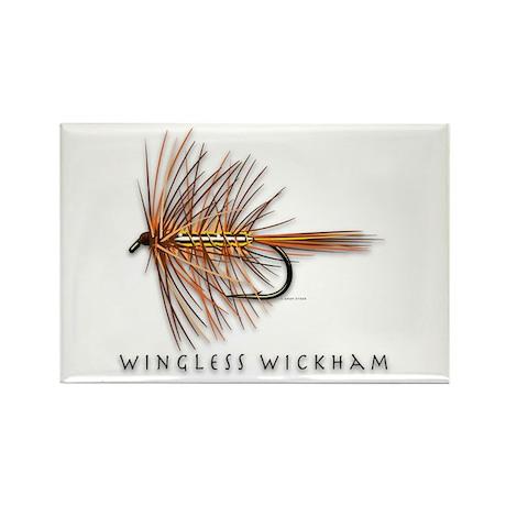Wingless Wickham Rectangle Magnet
