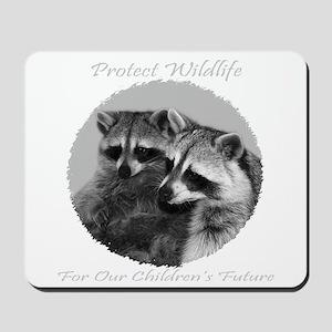Protect Wildlife Mousepad