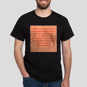 Bertrand Russell quotes Dark T-Shirt