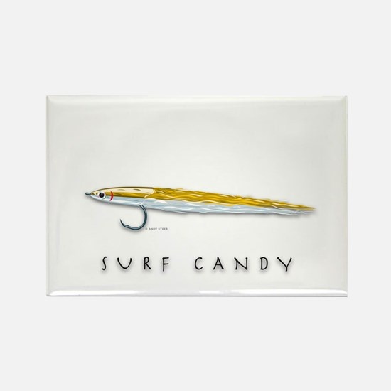 Surf Candy Rectangle Magnet
