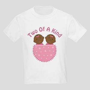 Twin Girls Ethnic Cute Kids Light T-Shirt