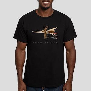 Foam Hopper Men's Fitted T-Shirt (dark)