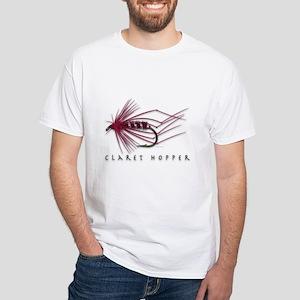 Claret Hopper White T-Shirt