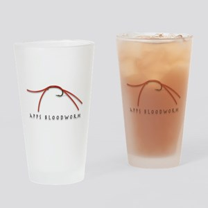 Apps Bloodworm Drinking Glass