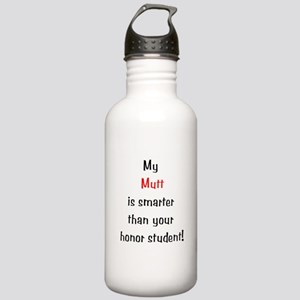 My Mutt is smarter...<br> Stainless Water Bottle 1