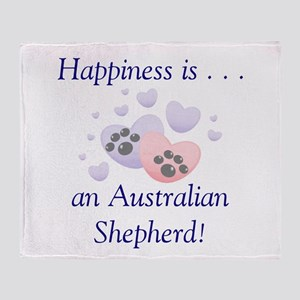 Happiness is...an Australian Throw Blanket