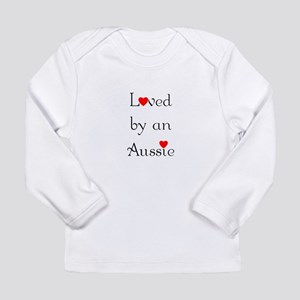 Loved by an Aussie Long Sleeve Infant T-Shirt
