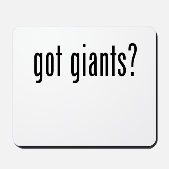 got giants Mousepad