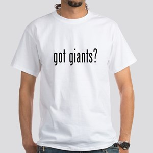 got giants White T-Shirt