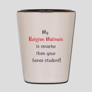 My Belgian Malionis is smarte Shot Glass