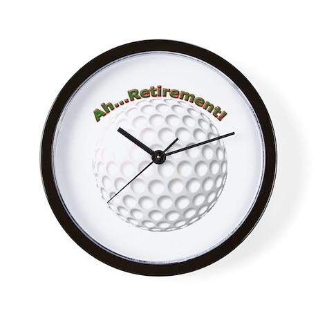 Ahhh...Retirement! Wall Clock