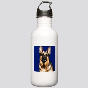 German Shepherd (photo) Stainless Water Bottle 1.0