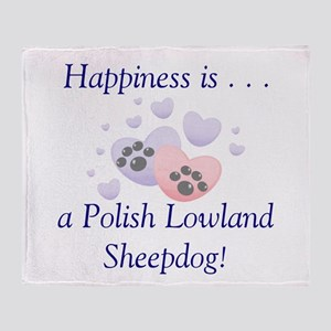 Happiness is...a Polish Lowla Throw Blanket
