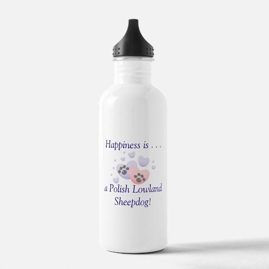 Happiness is...a Polish Lowla Water Bottle