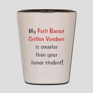 My Petit Basset Griffon Vende Shot Glass
