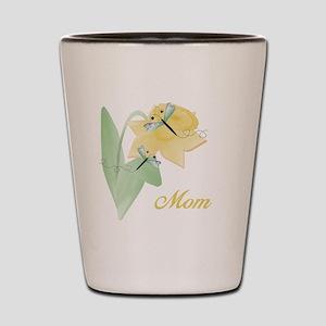 Mom (dragonfly) Shot Glass
