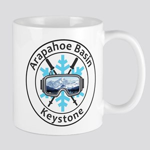 Arapahoe Basin - Keystone - Colorado Mugs