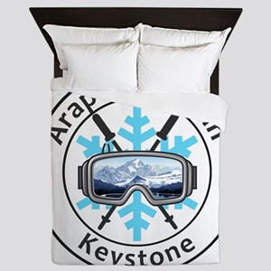Arapahoe Basin - Keystone - Colorado Queen Duvet