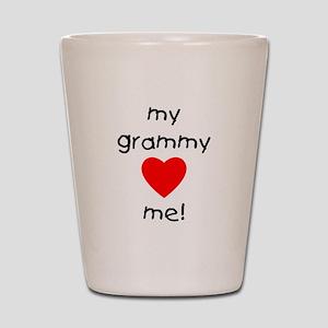 My grammy loves me Shot Glass