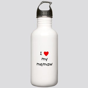 I love my memaw Stainless Water Bottle 1.0L