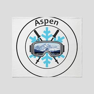 Aspen/Snowmass - Aspen and Snowmas Throw Blanket