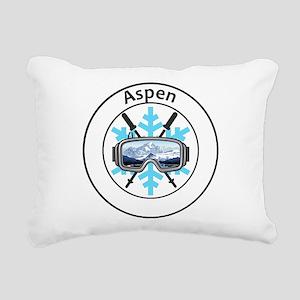 Aspen/Snowmass - Aspen Rectangular Canvas Pillow