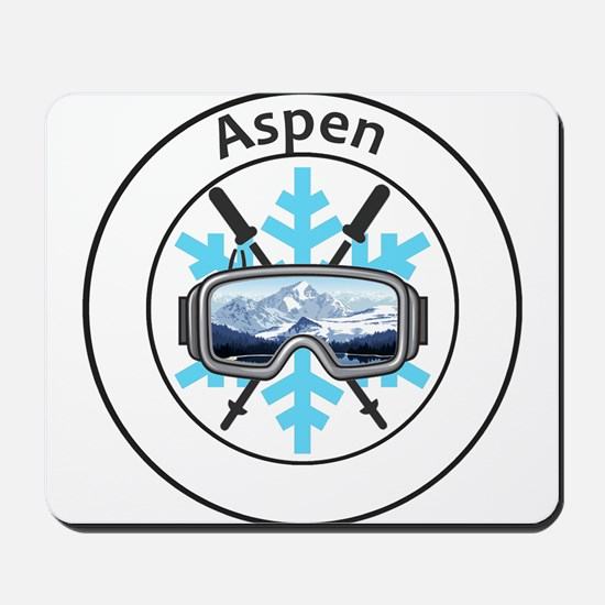 Aspen/Snowmass - Aspen and Snowmass Vi Mousepad