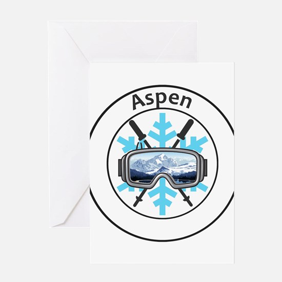 Aspen/Snowmass - Aspen and Snowma Greeting Cards