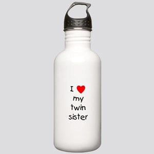 I love my twin sister Stainless Water Bottle 1.0L