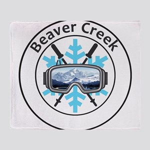 Beaver Creek Resort - Beaver Creek Throw Blanket