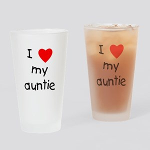 I love my auntie Drinking Glass