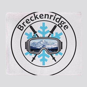 Breckenridge Ski Resort - Breckenr Throw Blanket